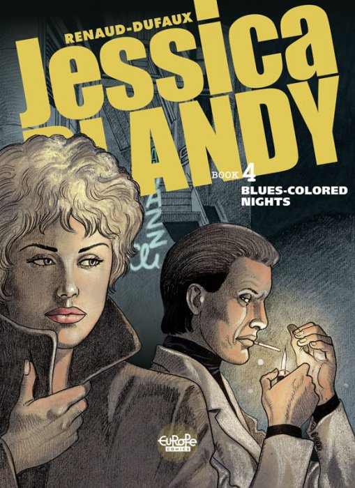 Jessica Blandy #4 - Blues-Colored Nights