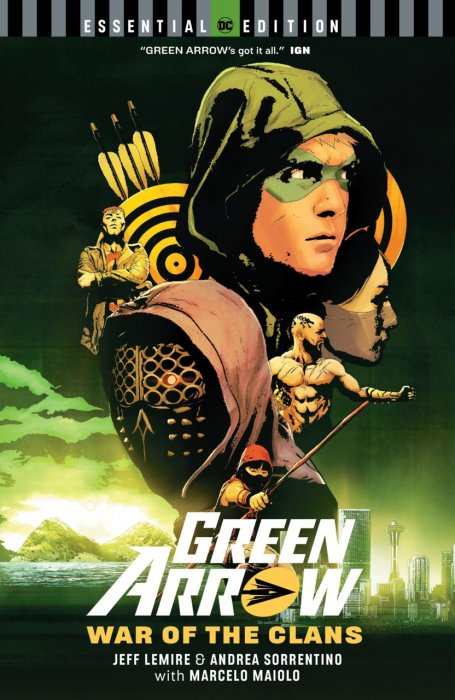 Green Arrow - War of the Clans (DC Essential Edition) #1 - TPB