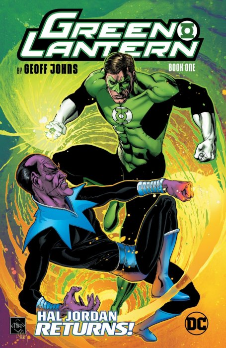 Green Lantern by Geoff Johns Book 1