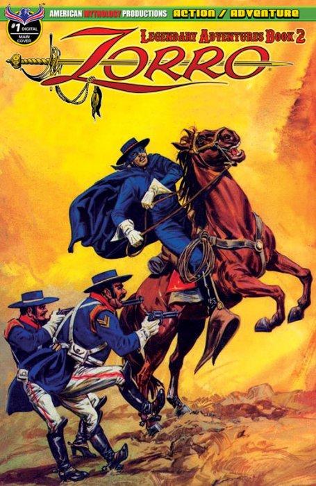 Zorro - Legendary Adventures Book 2 #1