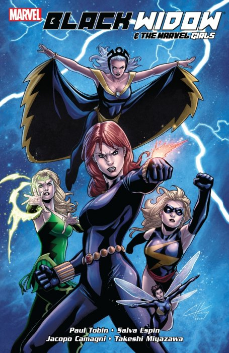 Black Widow and the Marvel Girls #1 - TPB