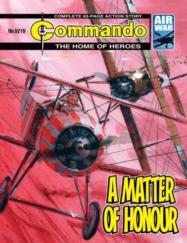 Commando #5215-5218