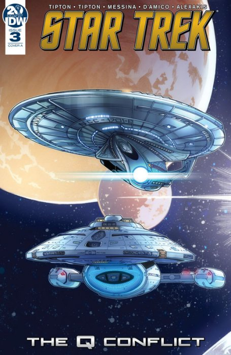 Star Trek - The Q Conflict #3