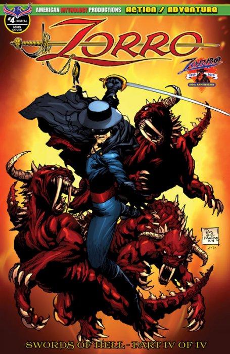 Zorro - Swords of Hell #4
