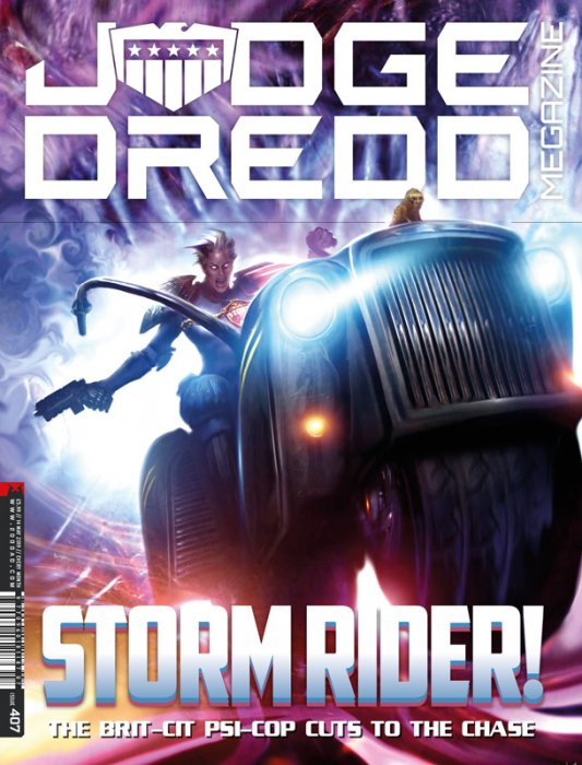 Judge Dredd The Megazine #407