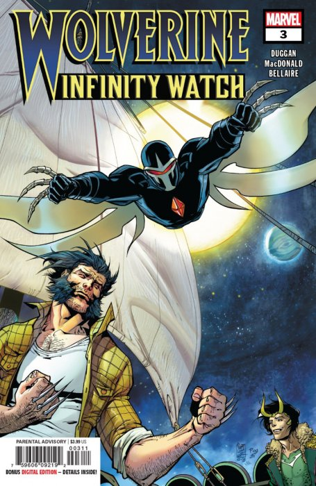 Wolverine - Infinity Watch #3