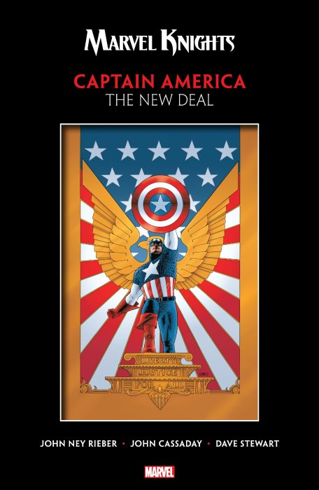 Marvel Knights Captain America by Rieber & Cassaday - The New Deal #1 - TPB