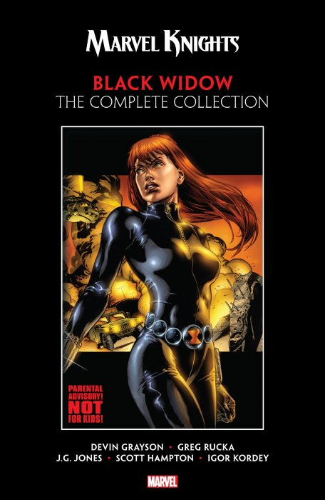 Marvel Knights Black Widow by Grayson & Rucka - The Complete Collection #1 - TPB