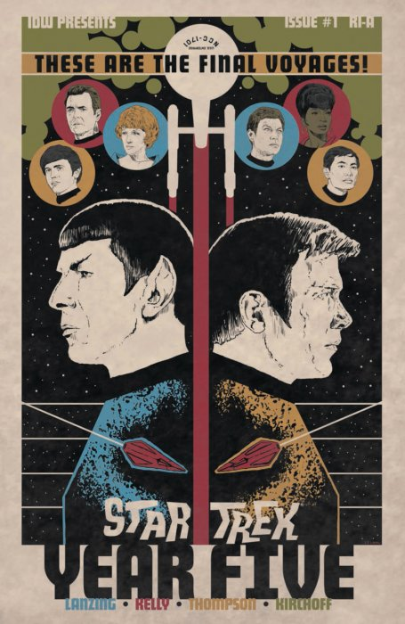 Star Trek - Year Five #1