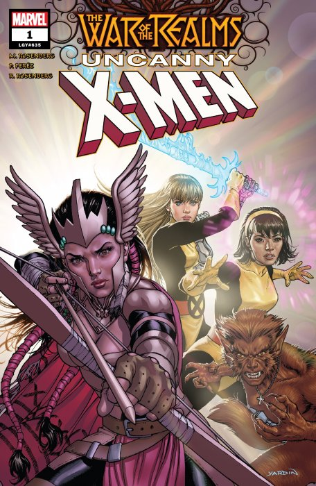 War of the Realms - Uncanny X-Men #1