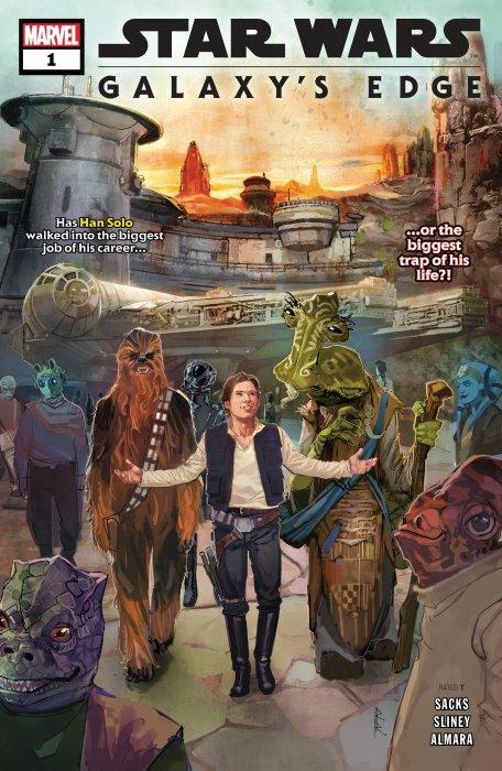 Star Wars - Galaxy's Edge #1