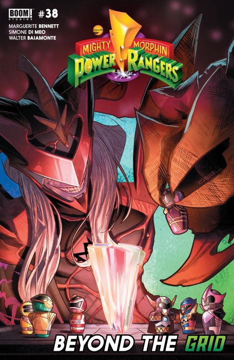 Mighty Morphin Power Rangers #38