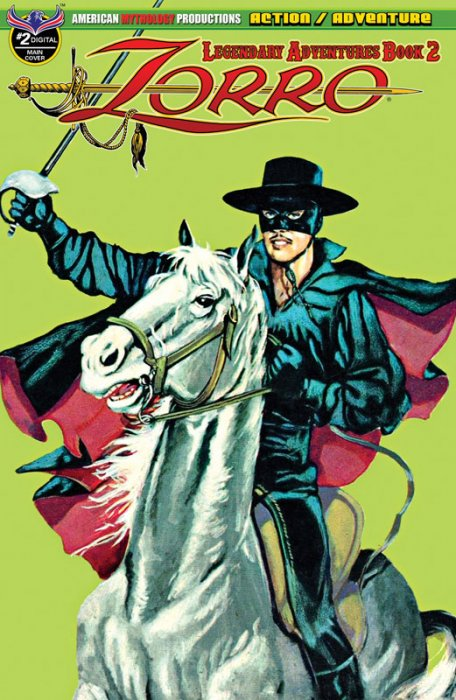 Zorro - Legendary Adventures Book 2 #2