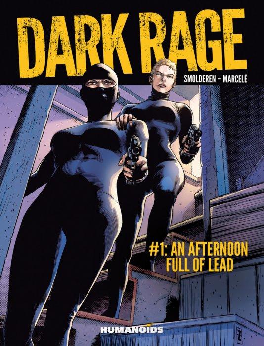 Dark Rage #1-3 Complete