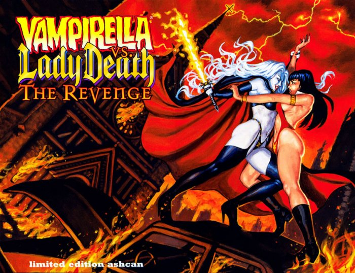 Vampirella vs. Lady Death - The Revenge - Ashcan