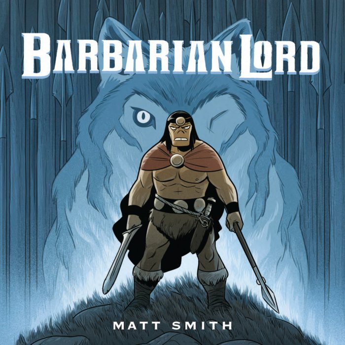 Barbarian Lord #1 - GN