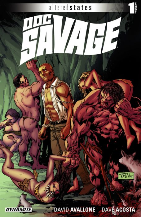 Altered States - Doc Savage #1