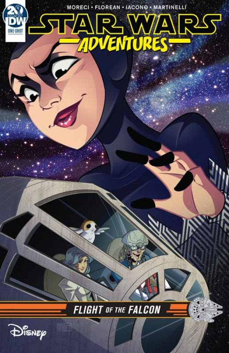 Star Wars Adventures - Flight of the Falcon #1