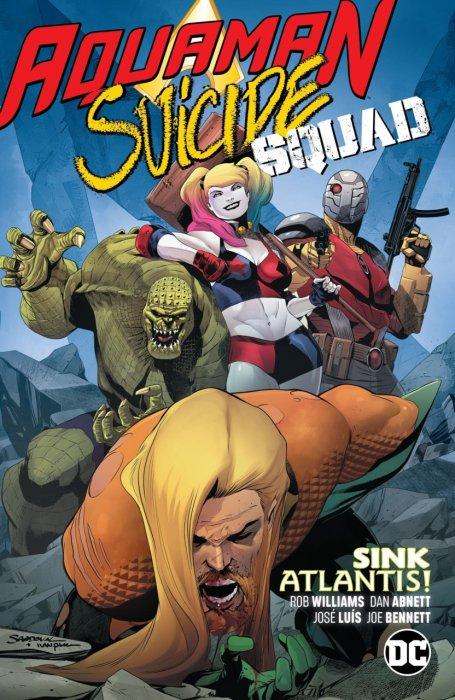Aquaman - Suicide Squad - Sink Atlantis #1 - TPB
