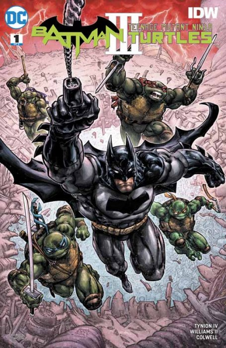Batman - Teenage Mutant Ninja Turtles III #1