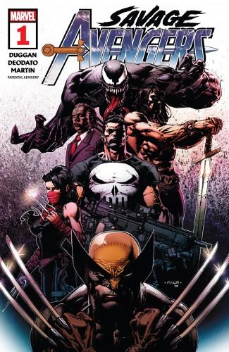 Savage Avengers - Director's Cut #1