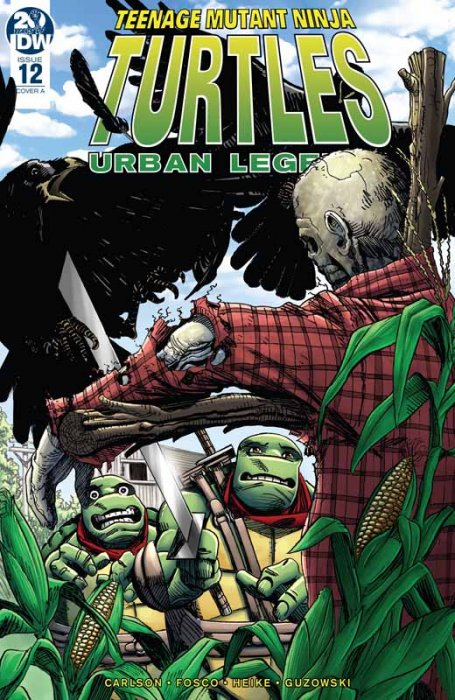 Teenage Mutant Ninja Turtles - Urban Legends #12