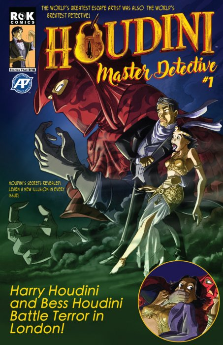 Houdini - Master Detective #1