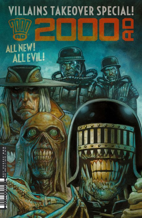2000AD - Villains Takeover Special #1