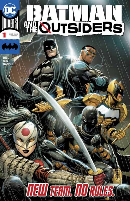 Batman & the Outsiders #1