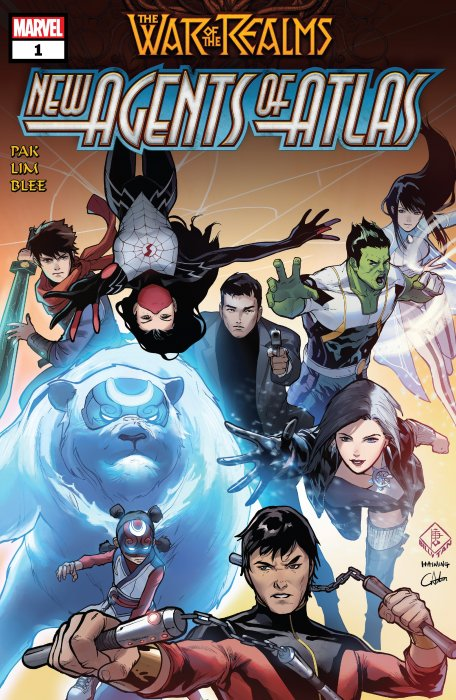 War of the Realms - New Agents of Atlas #1
