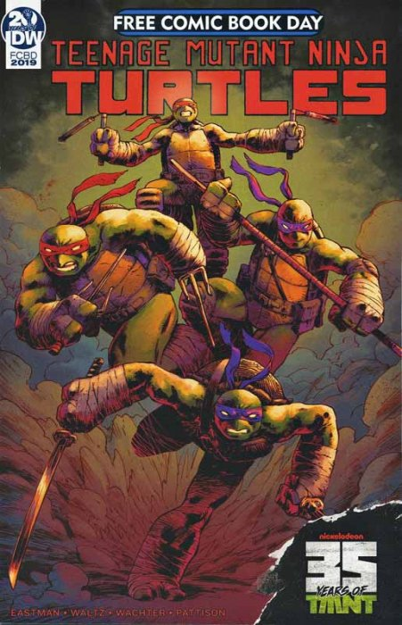 Teenage Mutant Ninja Turtles (FCBD 2019)