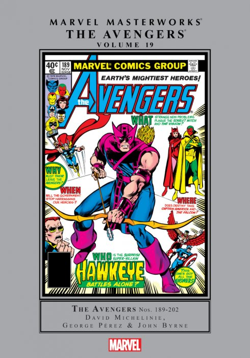 Marvel Masterworks - The Avengers Vol.19
