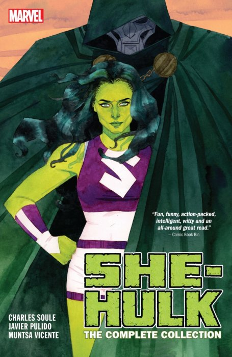 She-Hulk by Soule & Pulido - The Complete Collection #1 - TPB