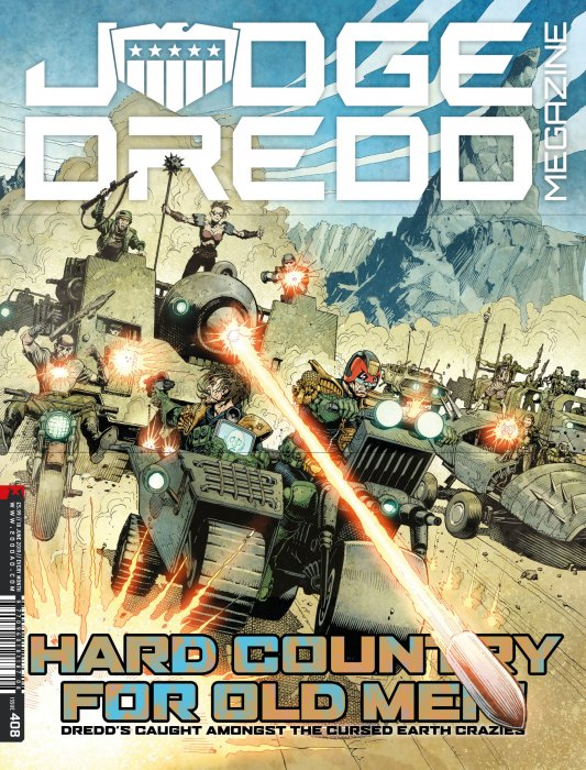Judge Dredd The Megazine #408