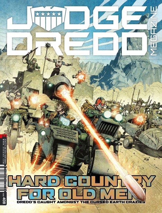 Judge Dredd The Megazine #408