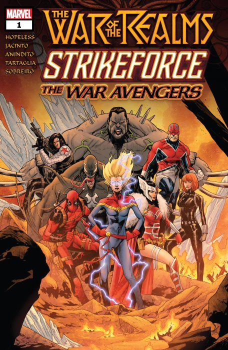 War of the Realms Strikeforce - The War Avengers #1