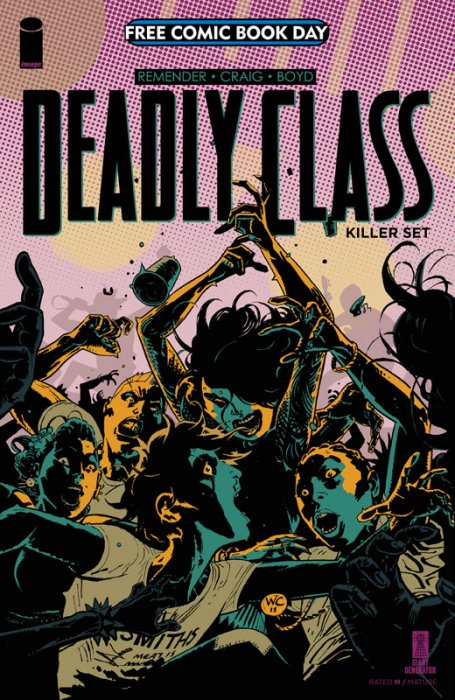Deadly Class - Killer Set (FCBD Special)