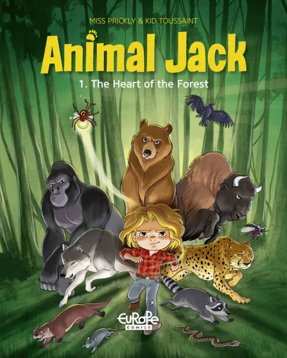 Animal Jack #1 - The Heart of the Forest
