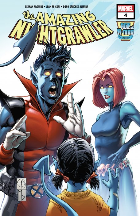 Age of X-Man - The Amazing Nightcrawler #4