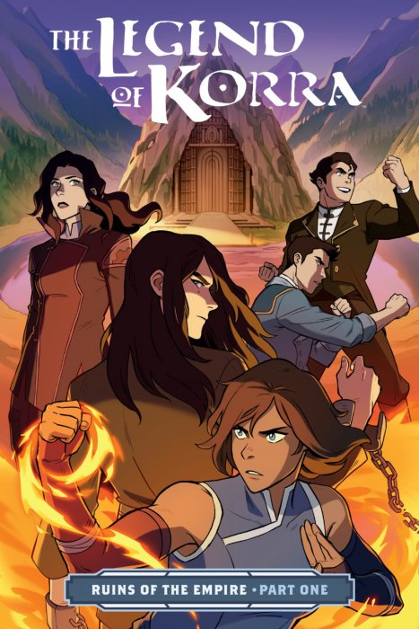 The Legend of Korra - Ruins of the Empire Part 1