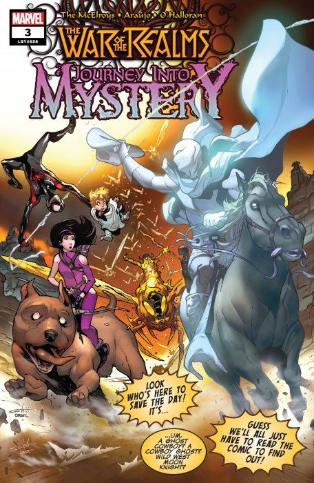 War of the Realms - Journey Into Mystery #3