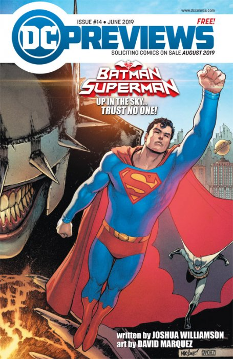 DC Previews #14 (June 2019 for Aug 2019)