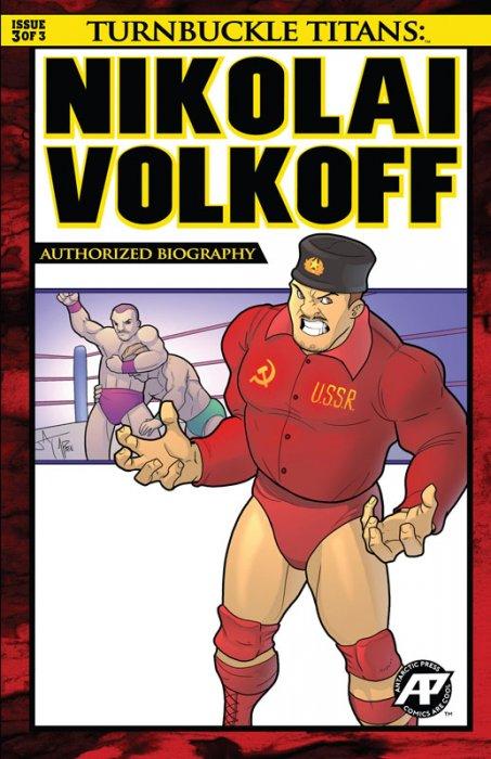 Turnbuckle Titans - Nikolai Volkoff #3