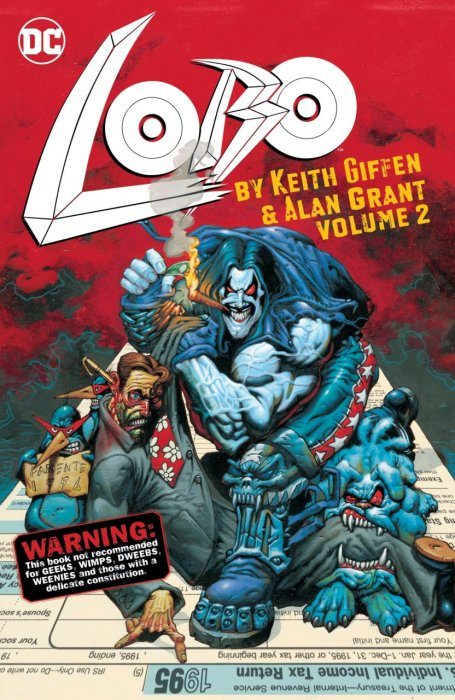 Lobo by Keith Giffen & Alan Grant Vol.2