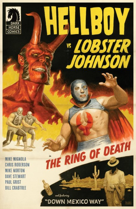Hellboy vs. Lobster Johnson - The Ring of Death #1