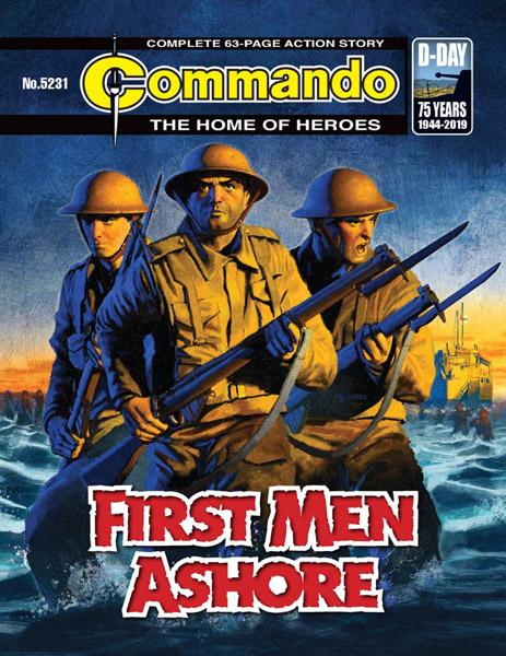 Commando #5231-5234