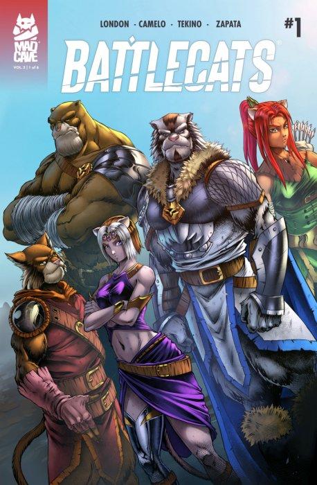 Battlecats Vol.2 #1