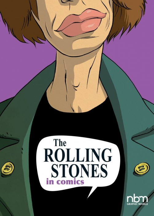 The Rolling Stones in Comics #1 - HC