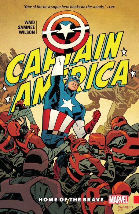 Captain America Book 1 by Waid & Samnee - Home of the Brave