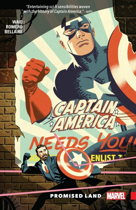 Captain America Book 2 by Mark Waid - Promised Land